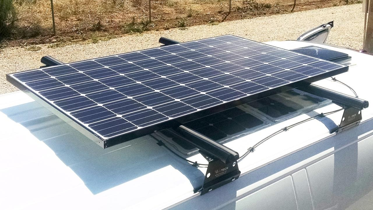 Battery Operated and Solar Charged