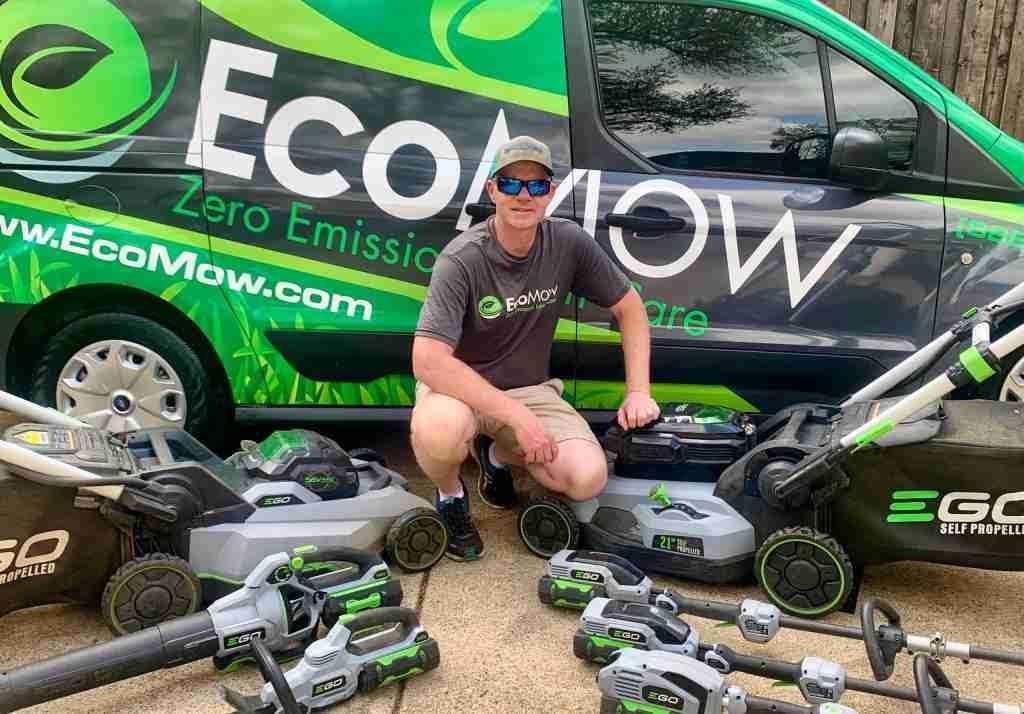 EcoMow Zero Emission Lawn Care Dallas