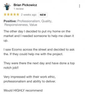 EcoMow Dallas Client Testimonial