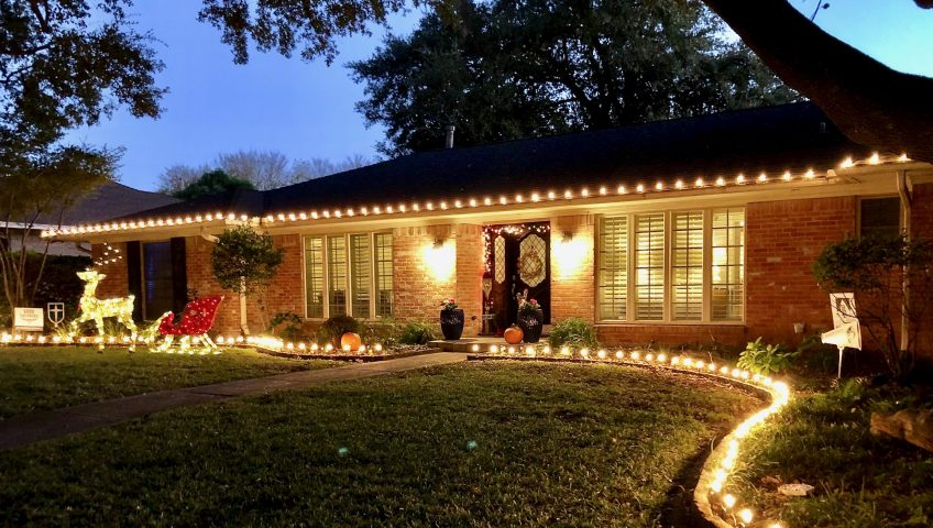 EcoMow Christmas Light Installation Dallas